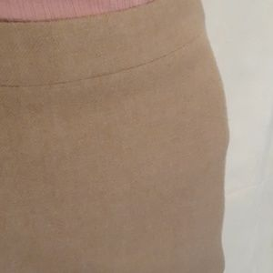 J. Crew Skirts - J Crew Tan Pencil Skirt - Size 0P